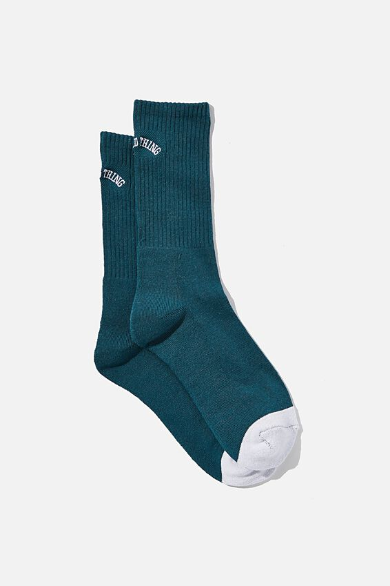 Retro Ribbed Socks, GOOD THINGS