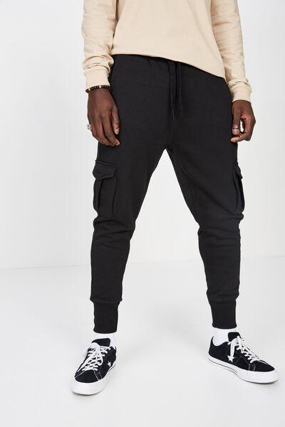 Utility Track Pant, BLACK