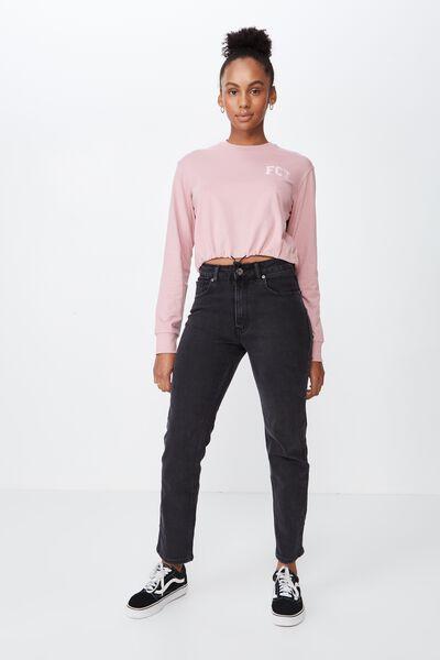 9dcfb0cda3b High Rise Straight Leg Jean 2, THRIFT BLACK