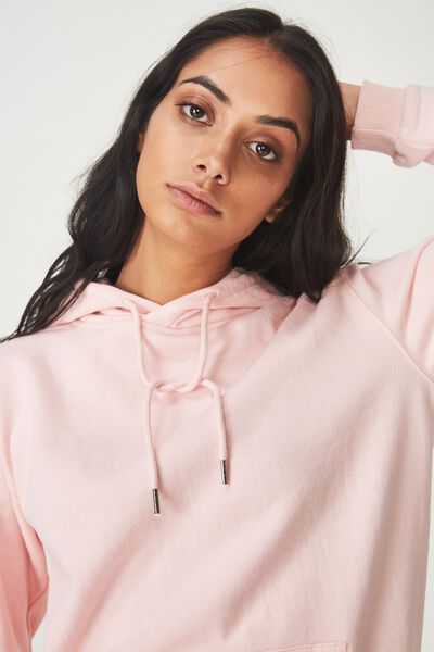 Basic Hoodie, STRAWBERRY CREAM