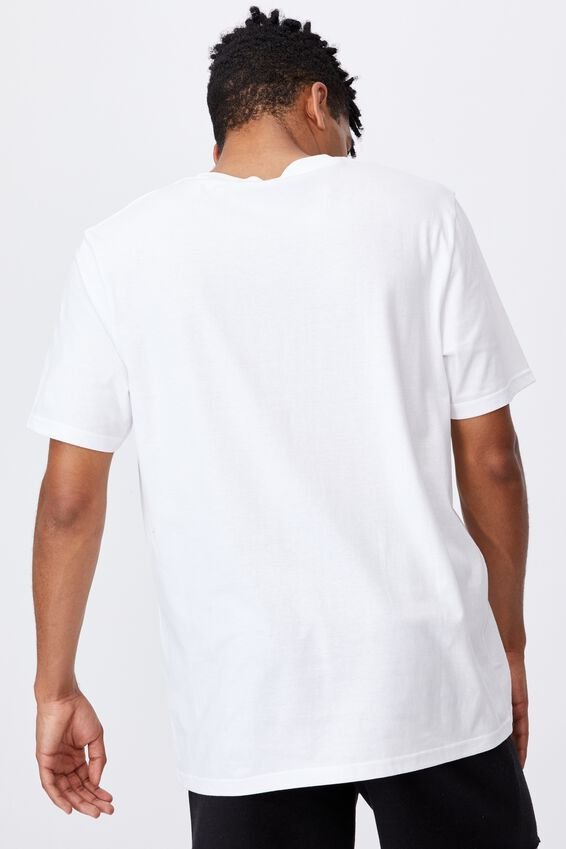 Regular Graphic T Shirt, WHITE/INTERNATIONAL WATERS