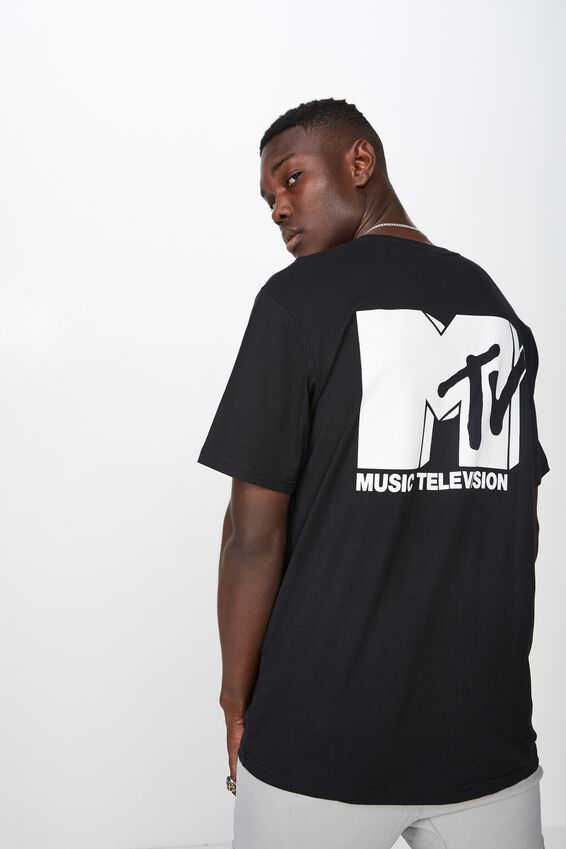 License T Shirt, BLACK/MTV