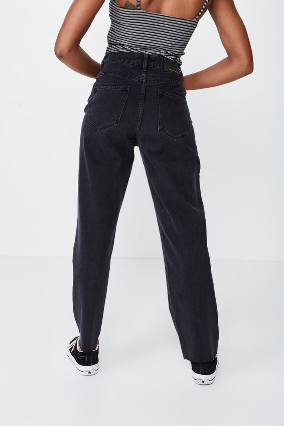 Relaxed Fit Jean 2, THRIFT BLACK