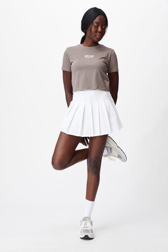 Fitted Graphic T Shirt, PLUM KITTEN/NEUE LMTD