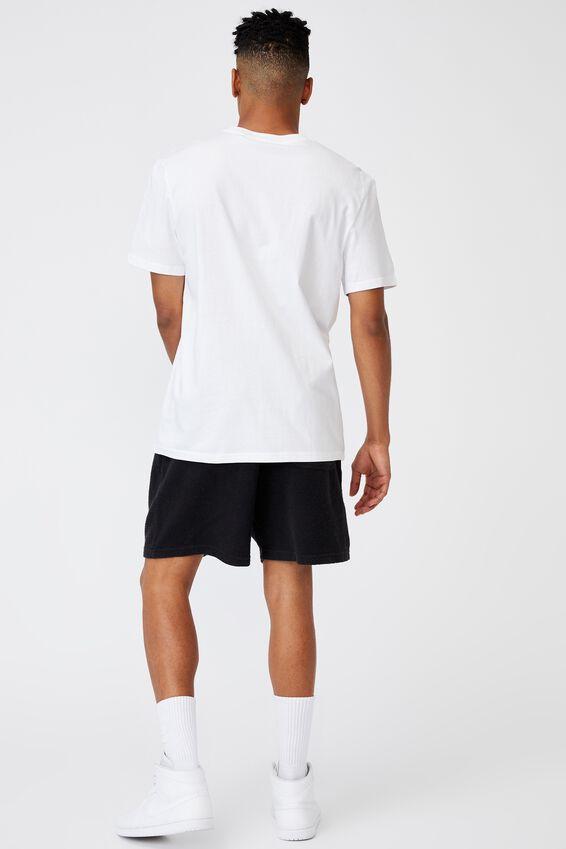 Regular Music Merch T Shirt, LCN BRA WHITE/TUPAC ME AGAINST THE WORLD