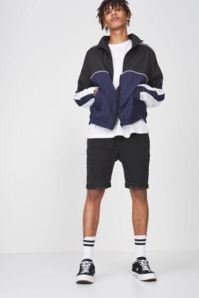 Shell Jacket, EVENING BLUE/BLACK