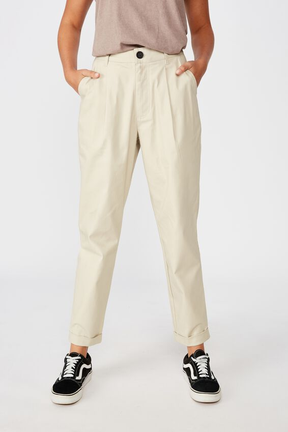 Tapered Pant, STONE
