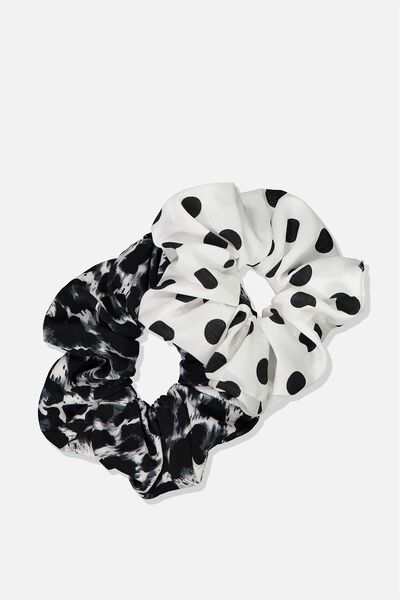 Planet Factorie Scrunchies, SPOT_ANIMAL