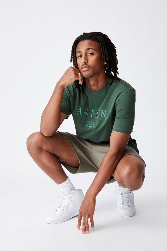 Regular Graphic T Shirt, FOREST PINE/ASPEN