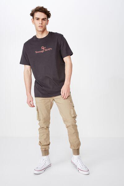 Combat Cuffed Pant, WASHED WHEAT