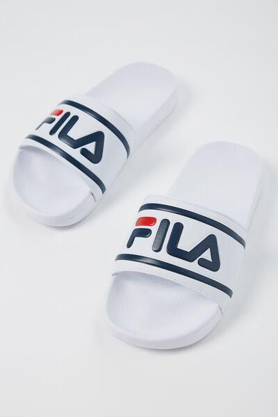 Fila Lcn Slides, WHITE