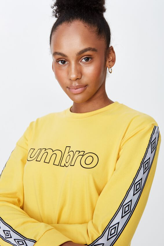 Umbro Lcn Toggle Front Top, OLD GOLD