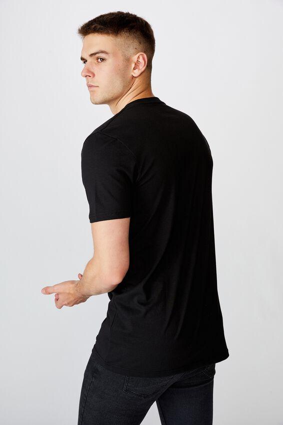 Slim Graphic T Shirt, BLACK/SINNER