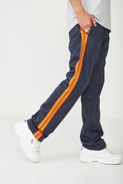 Tricot Track Pant, NAVY/ORANGE