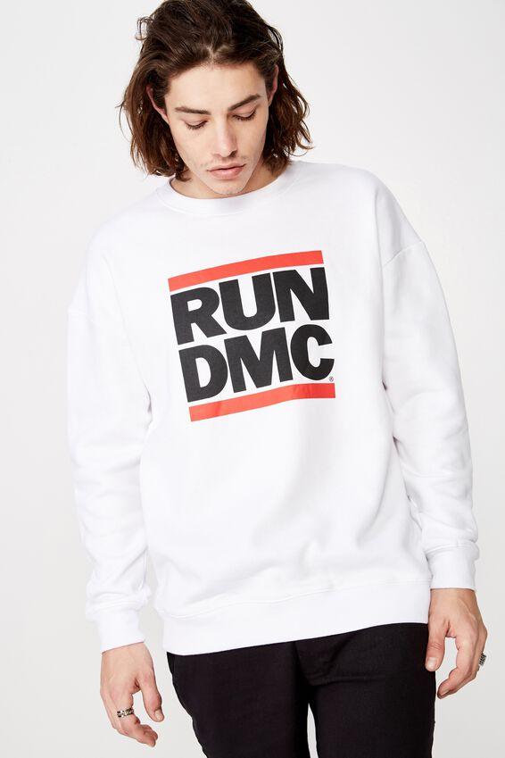 License Graphic Crew, WHITE/RUN DMC