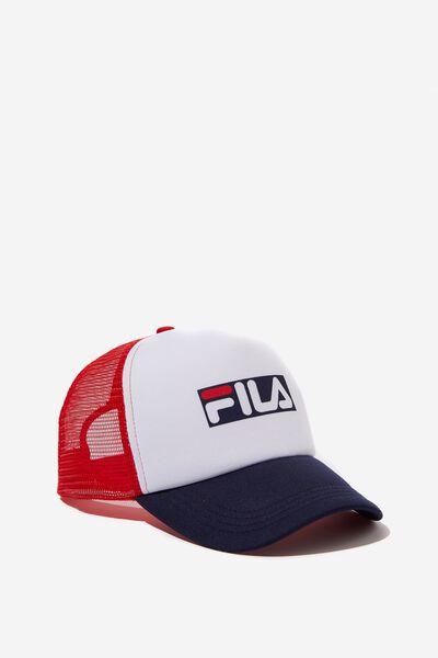 Fila Lcn Trucker Cap, HERITAGE