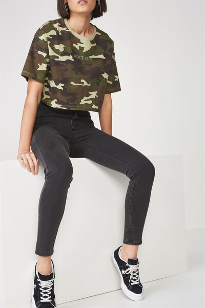 The High-Rise Skinny Jean, THRIFT BLACK