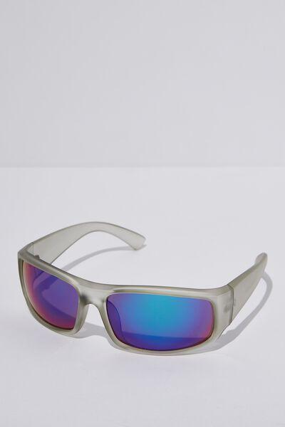Razor Sunglasses, M.CRY GREY_SMK/BLU