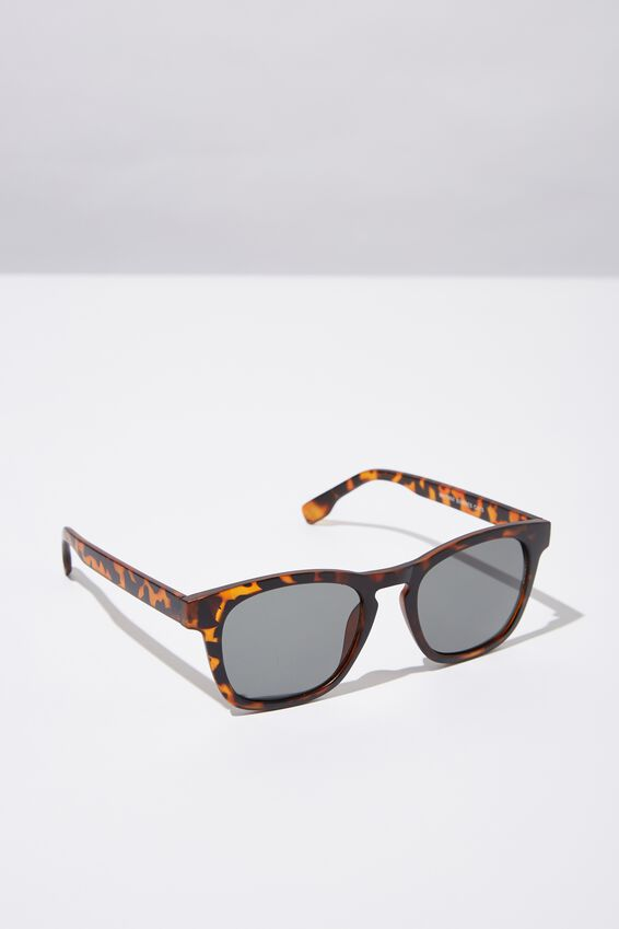Waymax Sunglasses, MATT TORT_BLK TINT