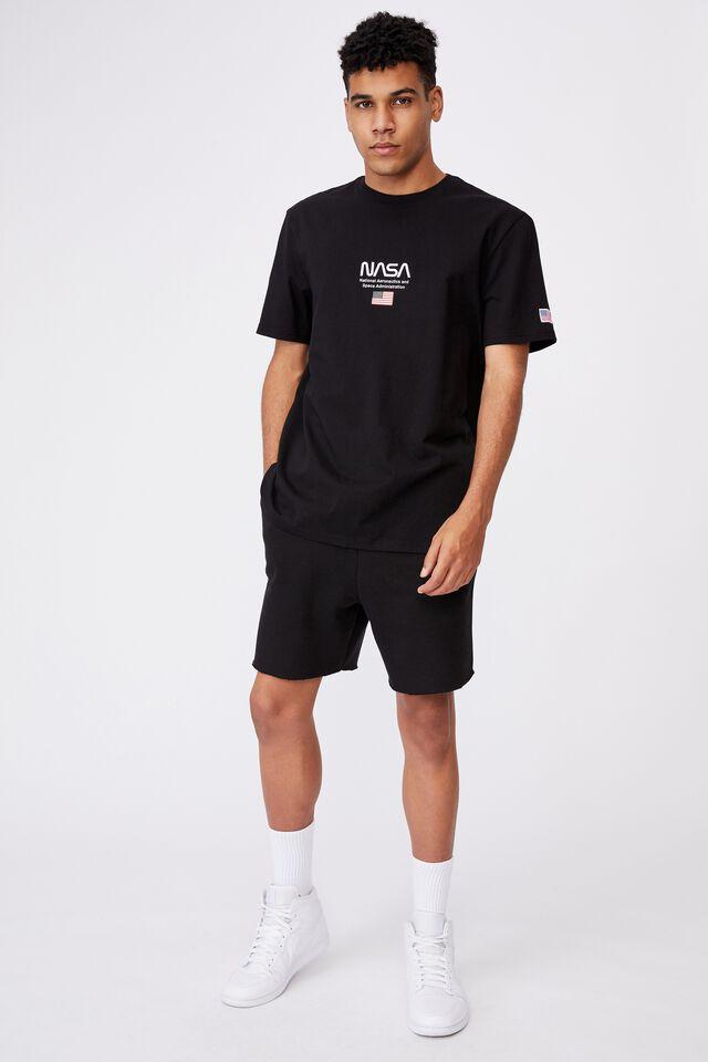Regular Pop Culture T Shirt, LCN NAS BLACK/NASA CLASSIC