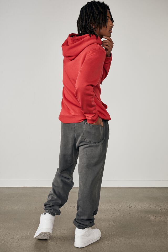 Relaxed Trackpant, WASHED BLACK