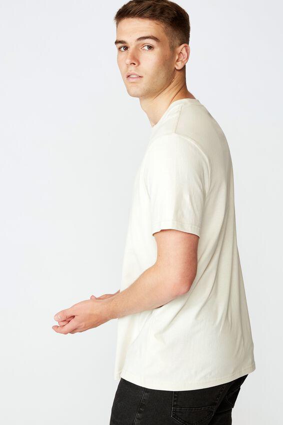 Regular Graphic T Shirt, IVORY/BAD HEART