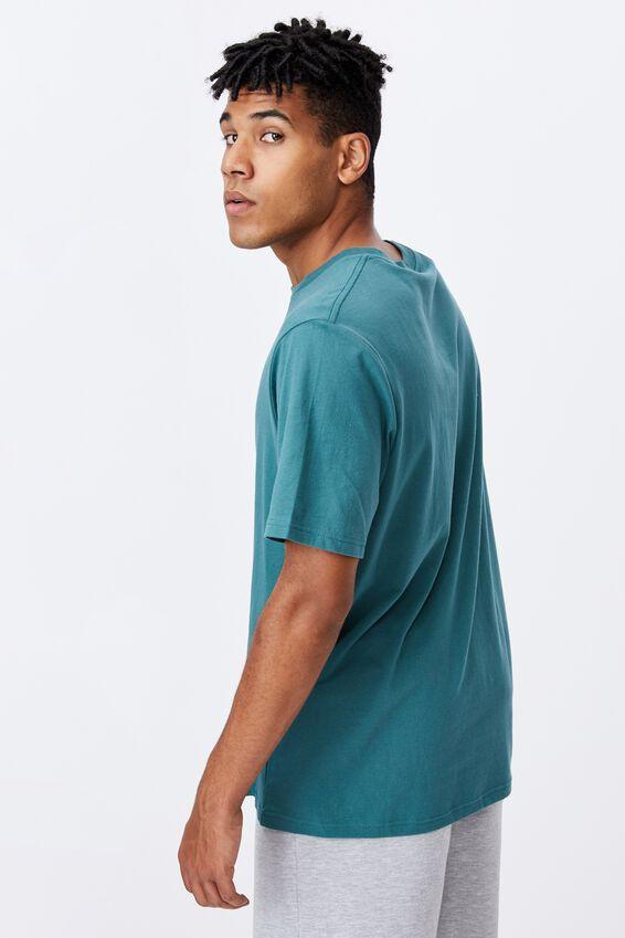 Regular Pop Culture T Shirt, LCN COK PINE TEAL/SPRITE