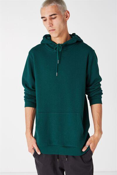Plain Hoodie, BOTANICAL GREEN