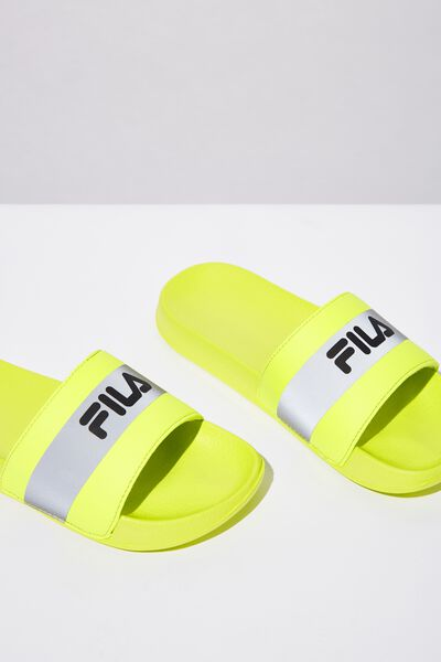 Fila Lcn Ref Slide, NEON YELLOW