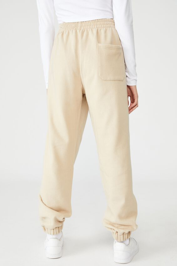 Super Slouchy Trackpant, HUMUS