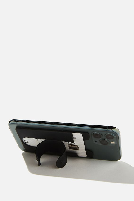 Flip Stand Phone Cover, BLACK