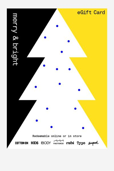 eGift Card, Factorie Christmas