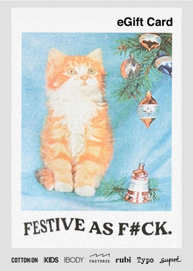 eGift Card, Factorie Christmas Festive